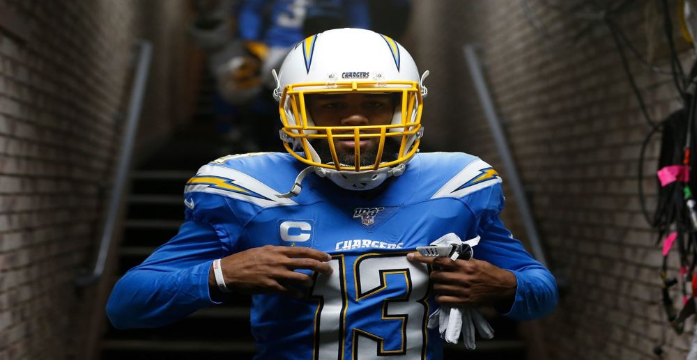 Keenan Allen, Chargers, Sign 4-year, $80 Million Contract